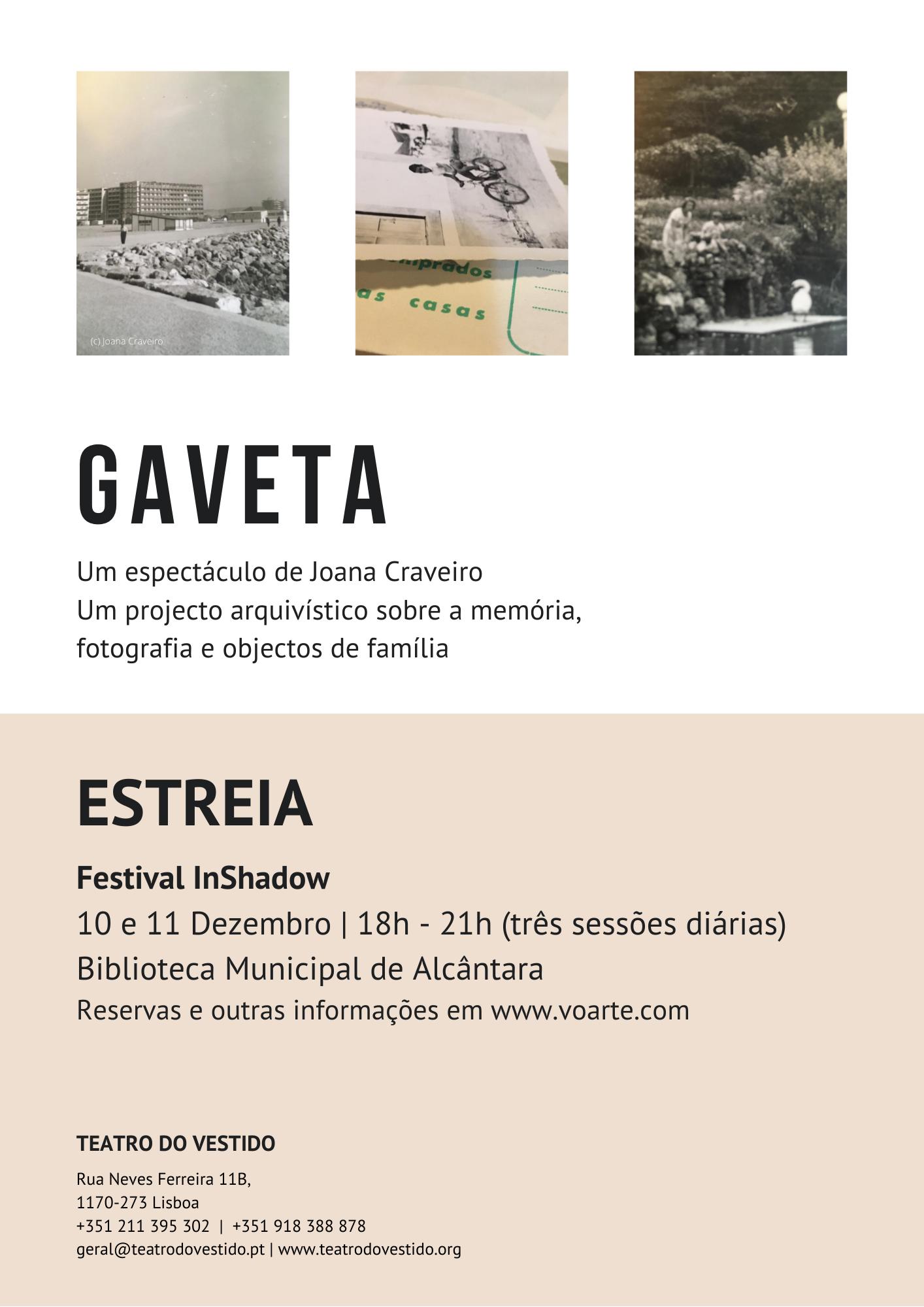 Gaveta de Joana Craveiro